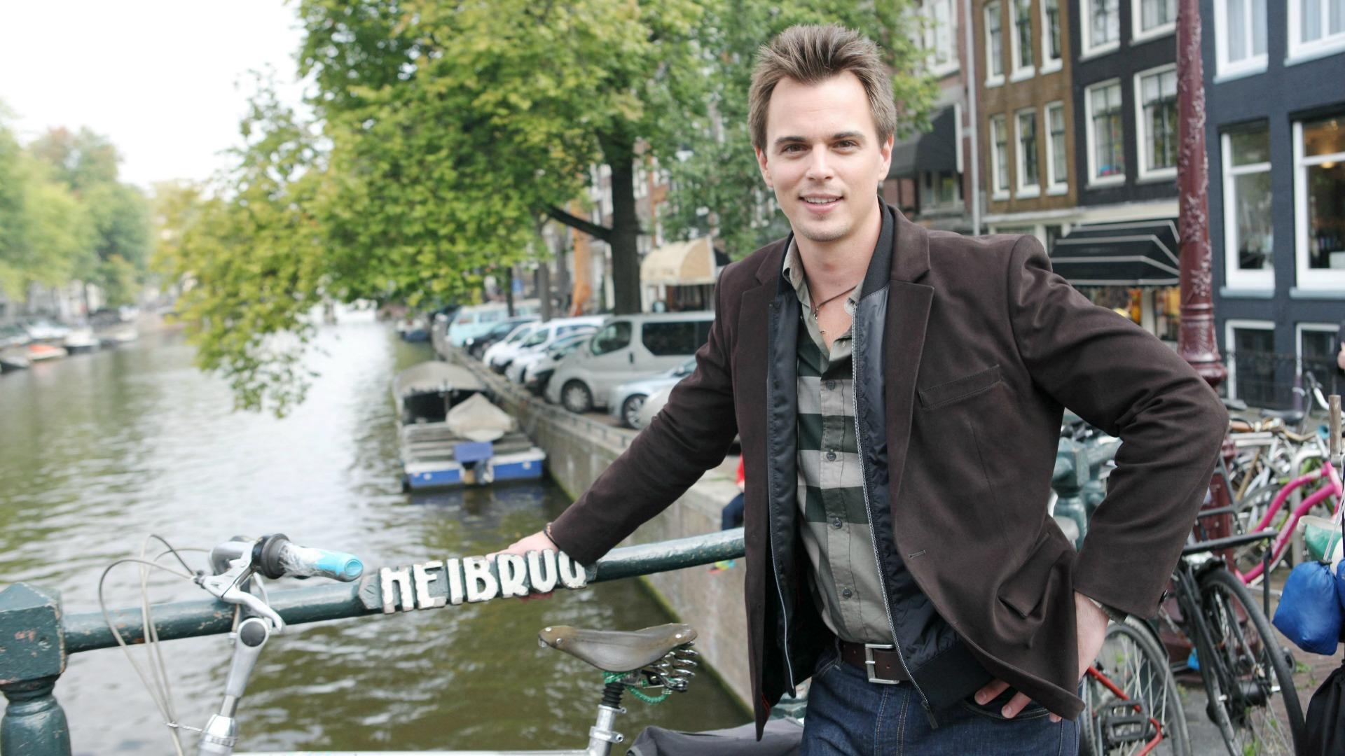 Darin Brooks took a stroll through the fun-loving city of Amsterdam.