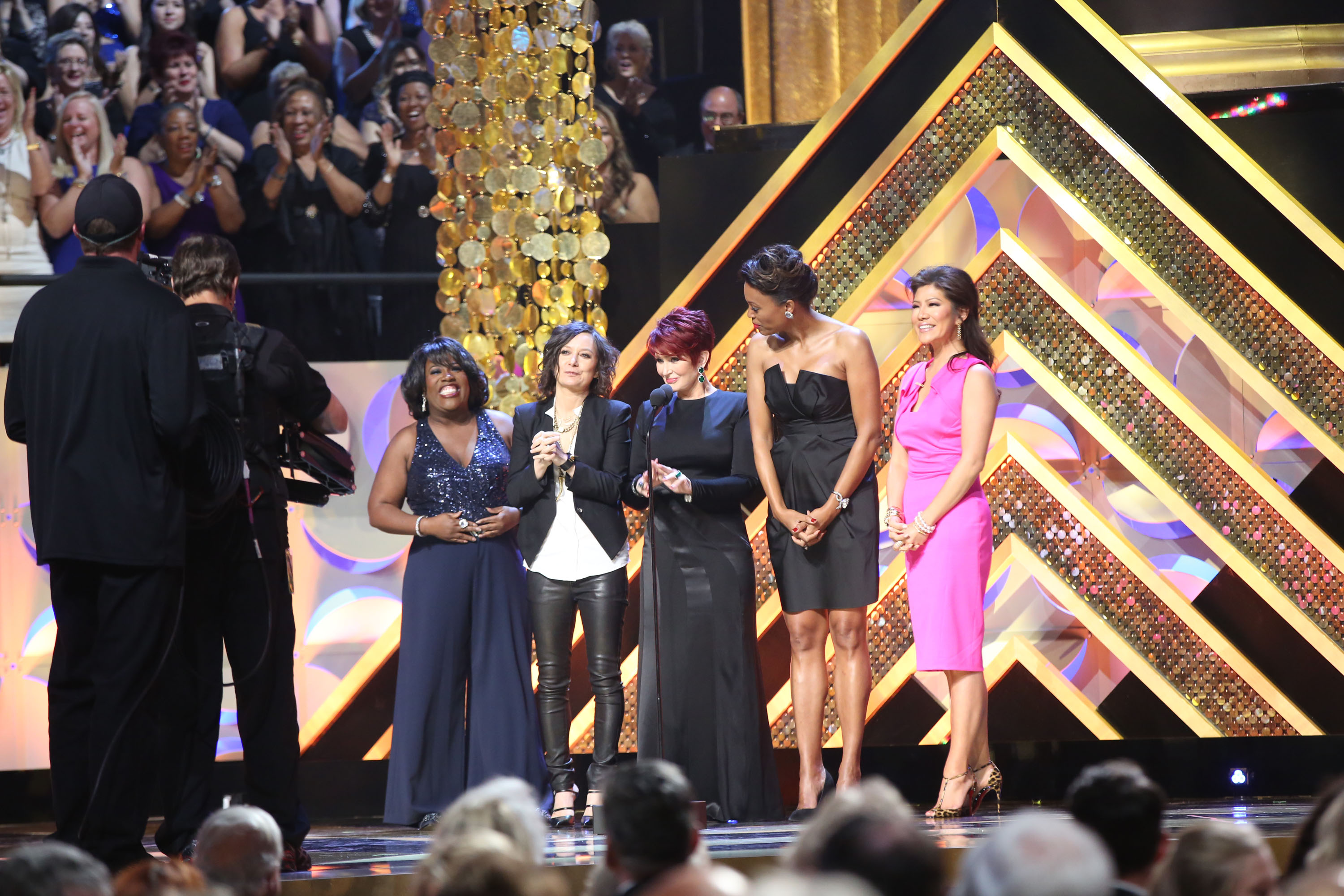The Ladies On Stage