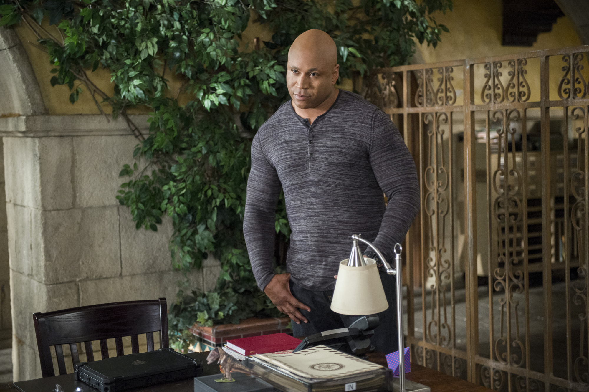 LL COOL J as Special Agent Sam Hanna.