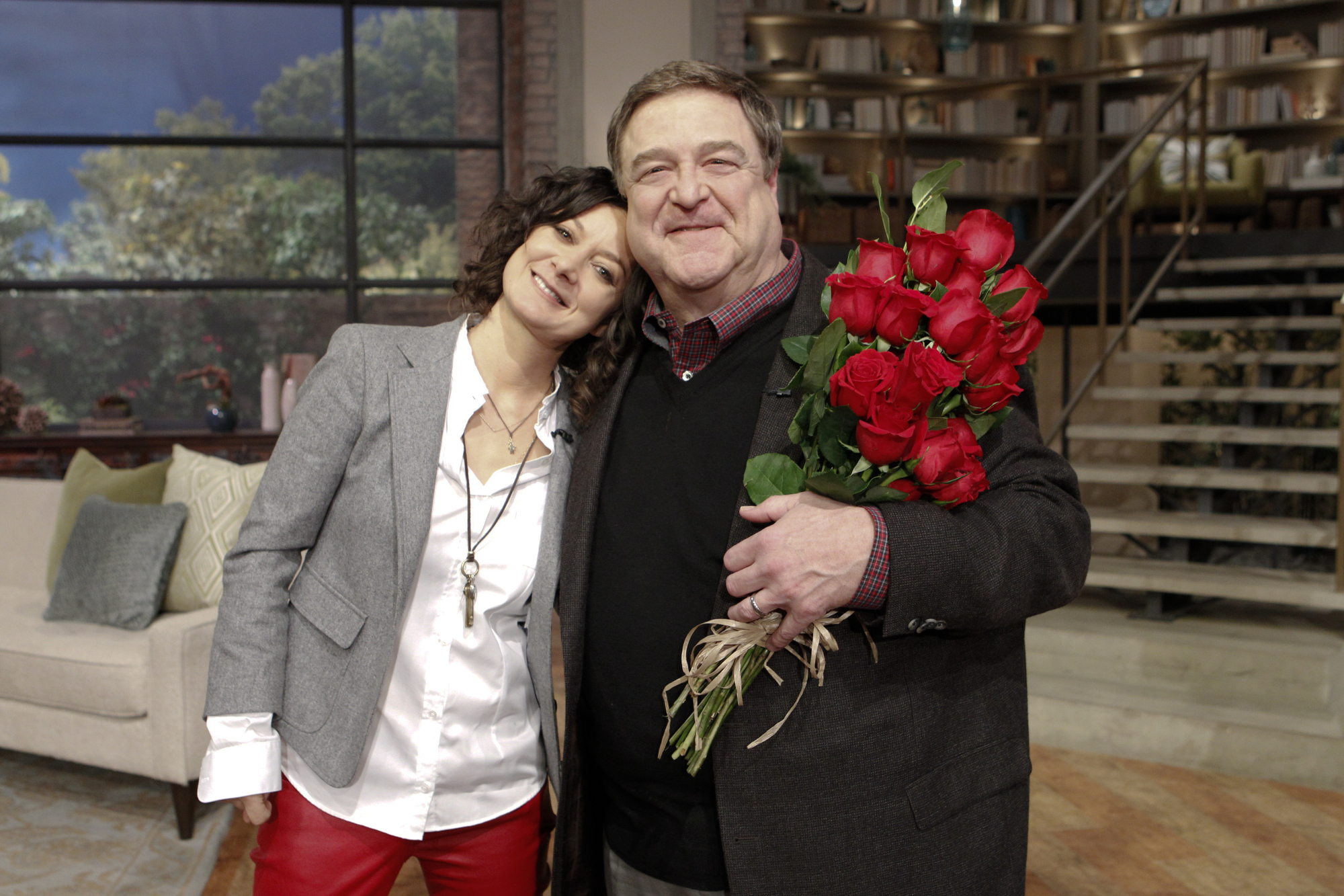 Sara With John Goodman.