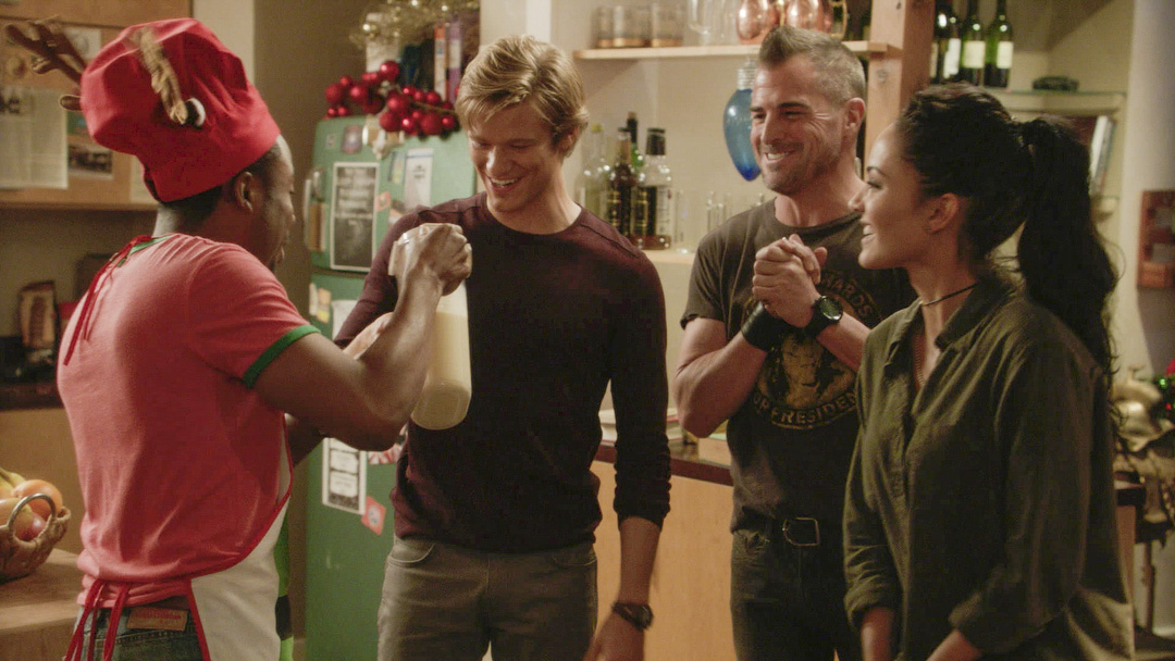 It's not a holiday celebration without eggnog!
