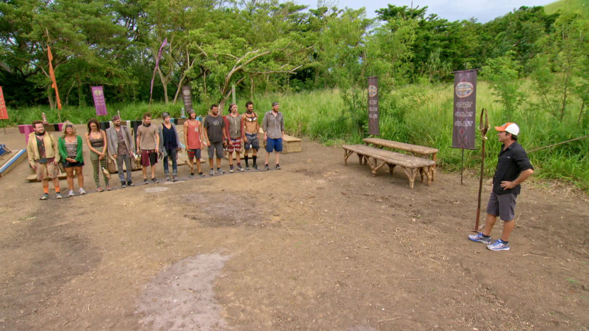 Ken will hand over his Individual Immunity Necklace before the next challenge starts.