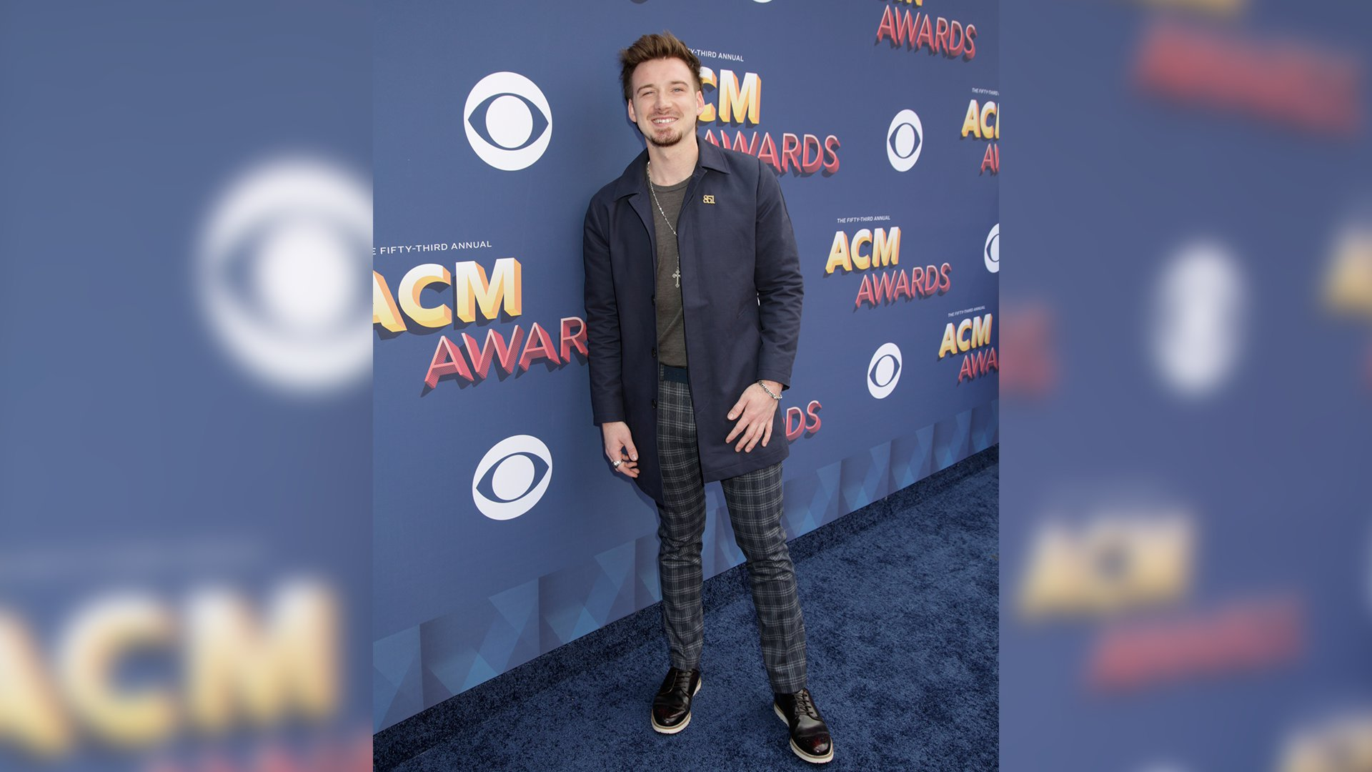 Morgan Wallen is currently heating up the ACM red carpet and the charts with his new song