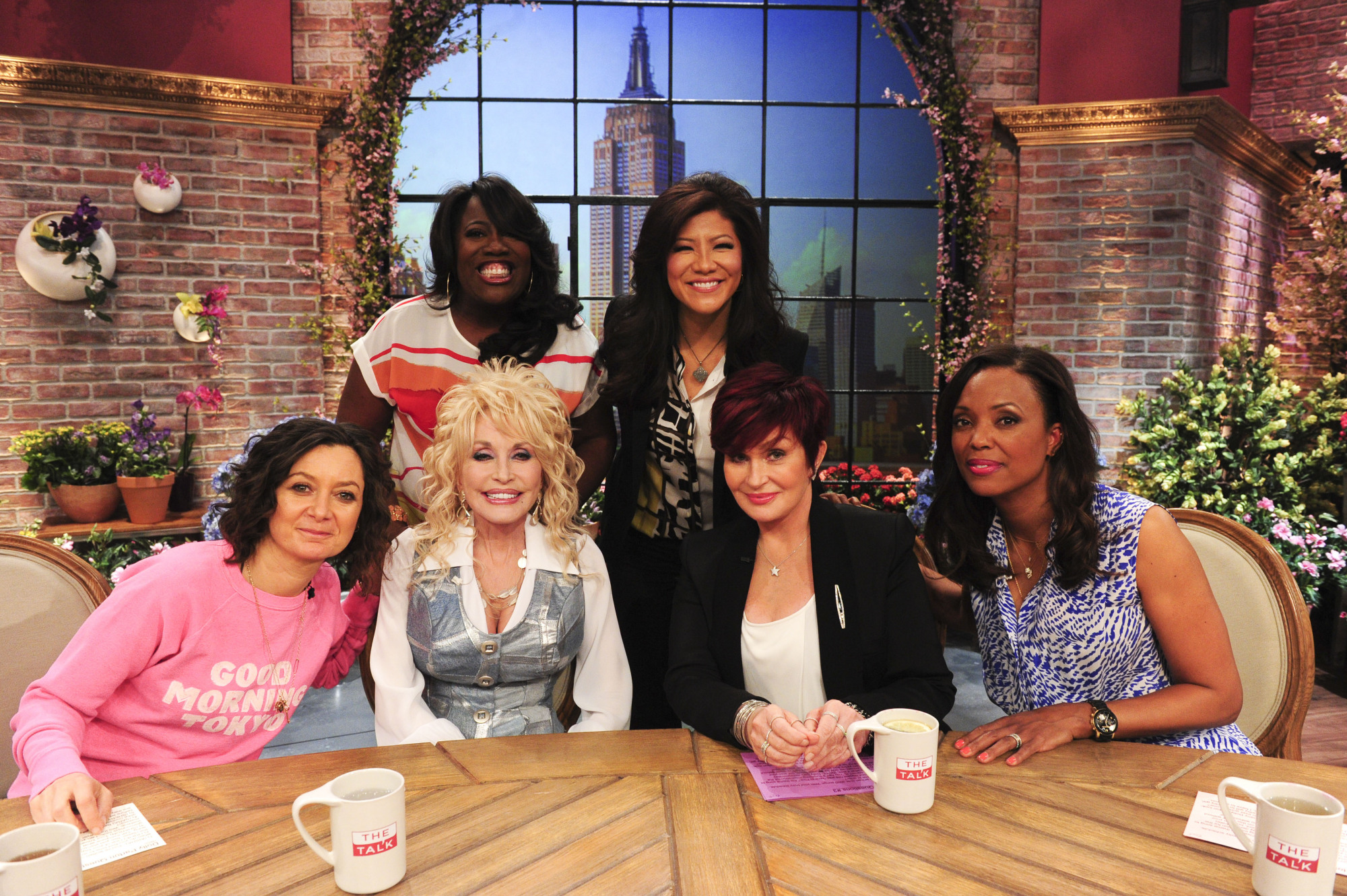 The Ladies With Dolly Parton.