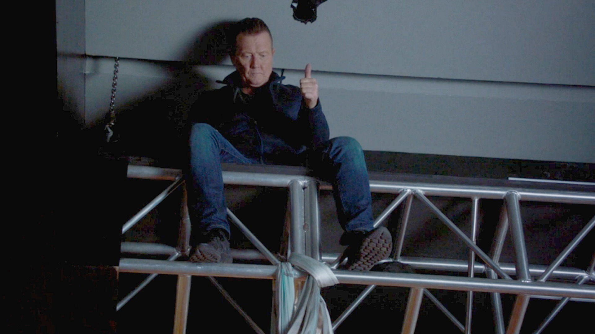 Agent Cabe Gallo is a man you can truss.