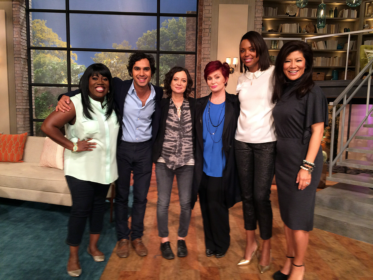7. Our Old Friend Kunal Nayyar Stopped By!
