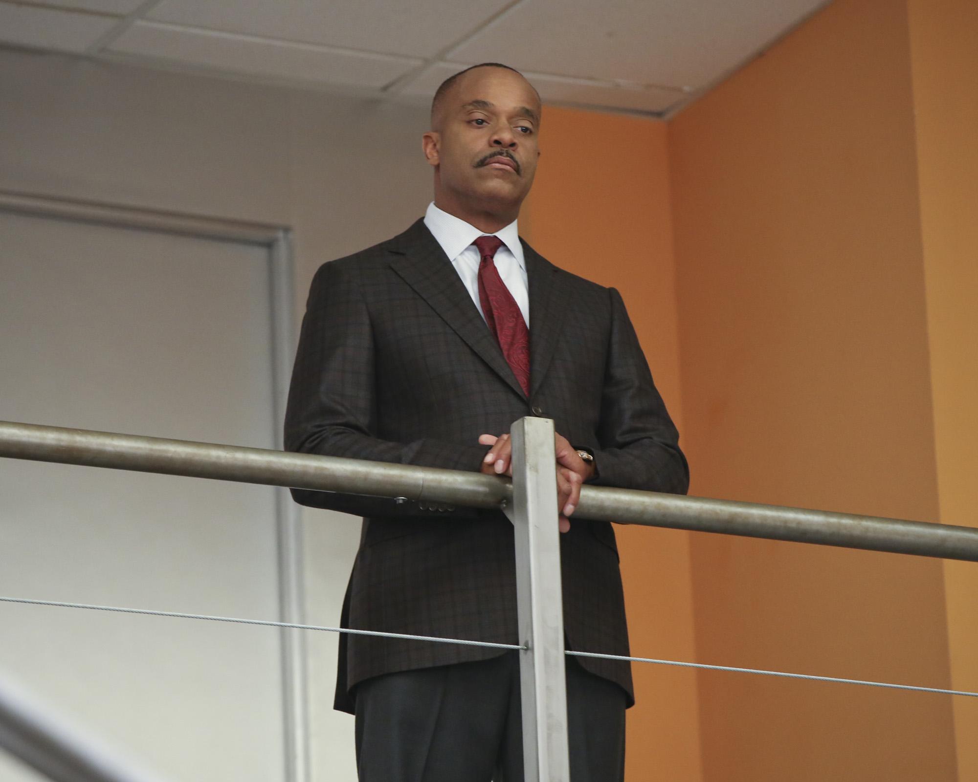 Rocky Carroll as Leon Vance.