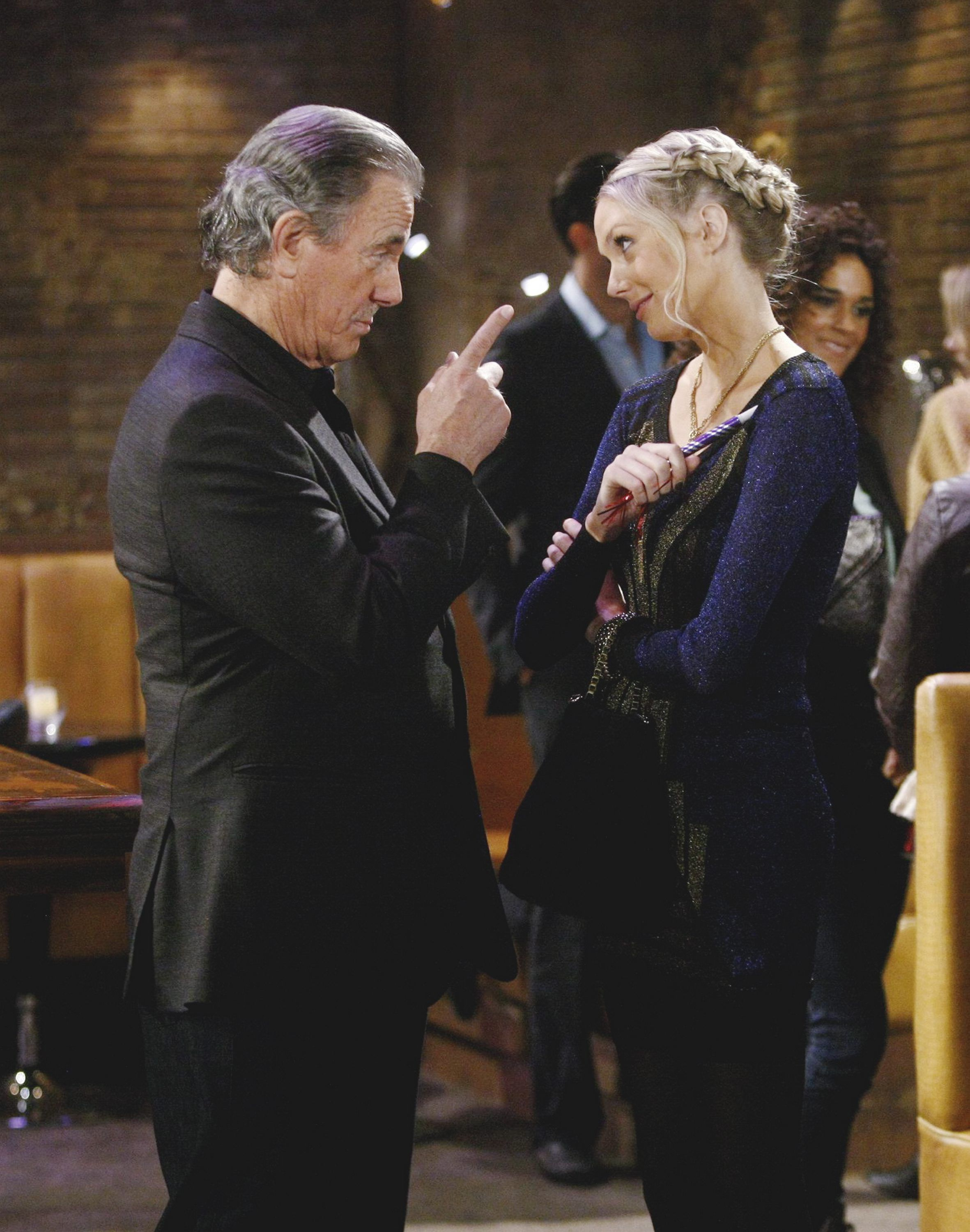 Victor and Abby Newman