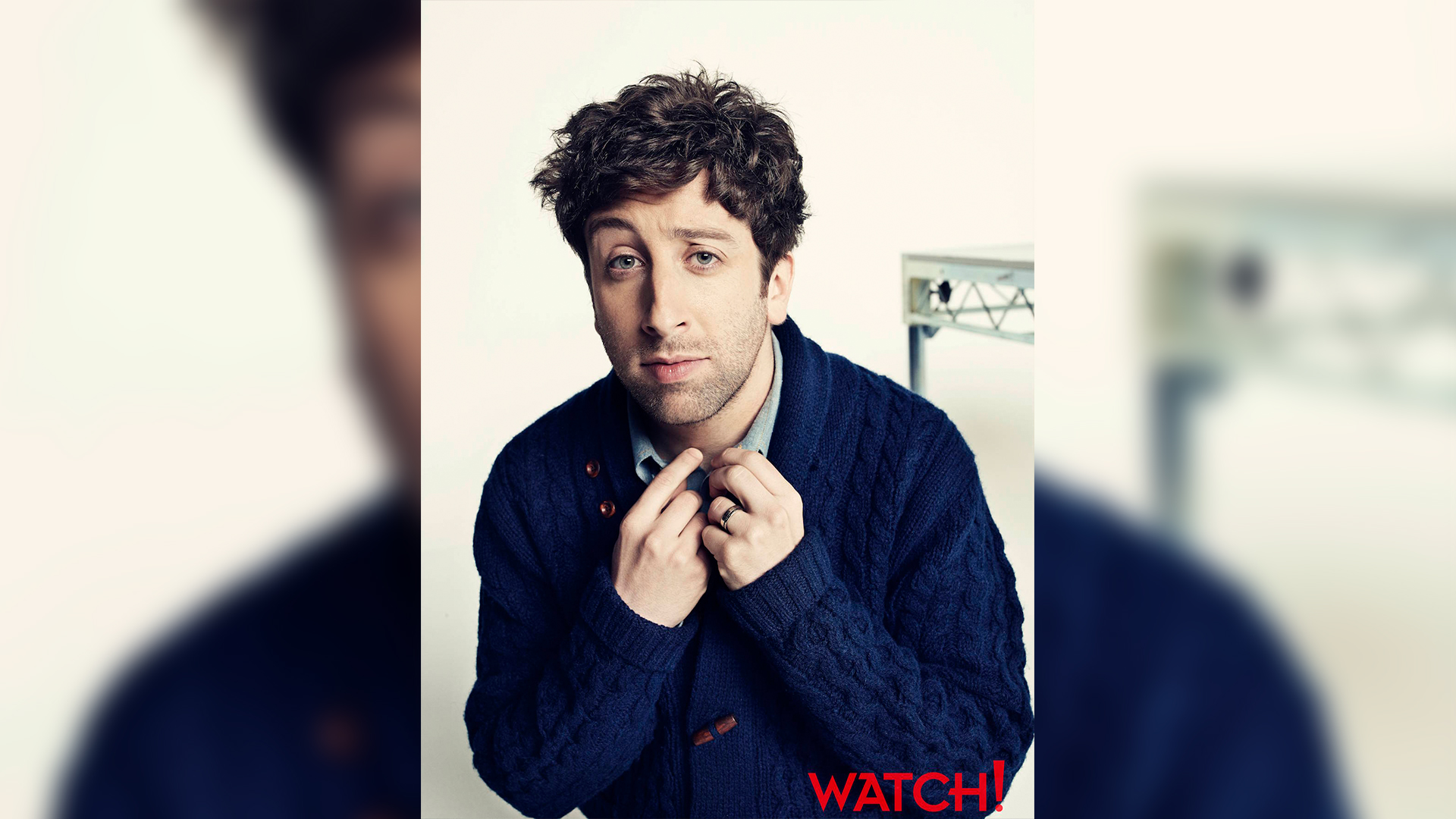 Simon Helberg is well-groomed