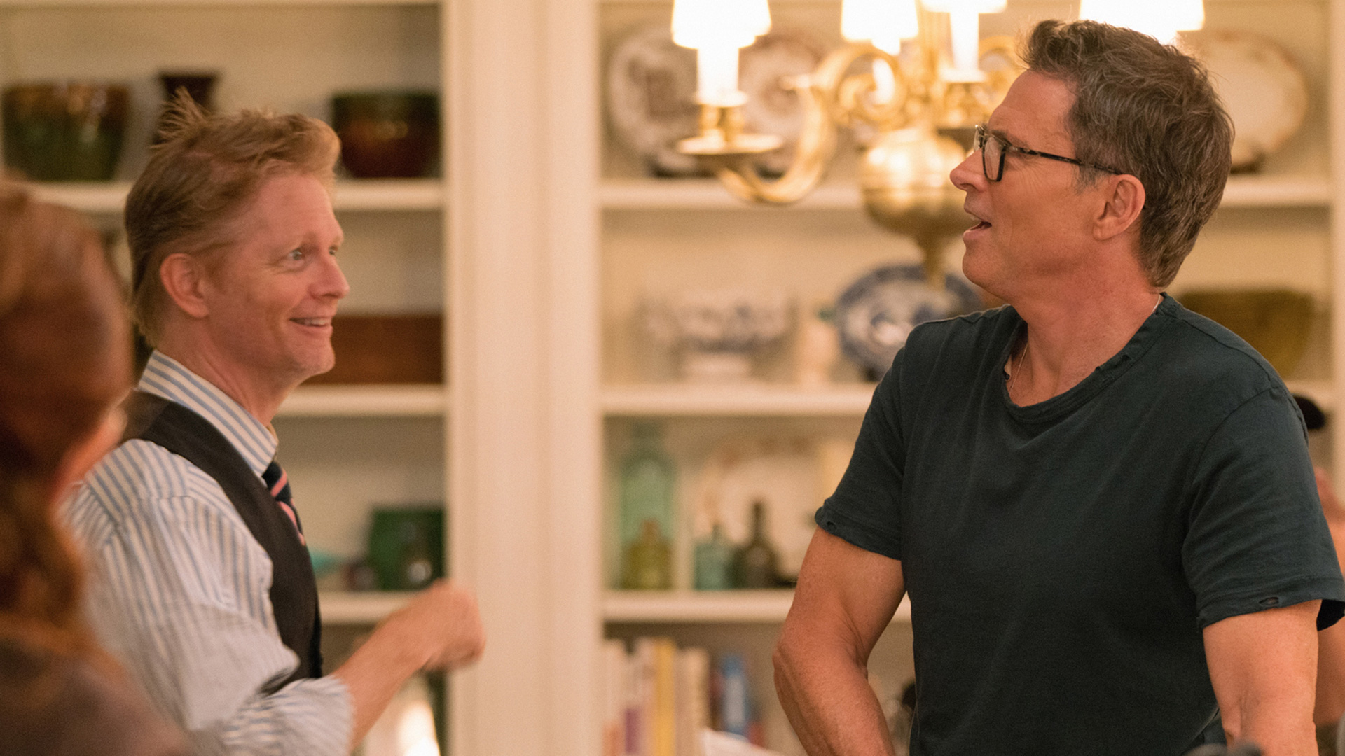 Executive Producer Eric Stoltz has a chat with Tim Daly.