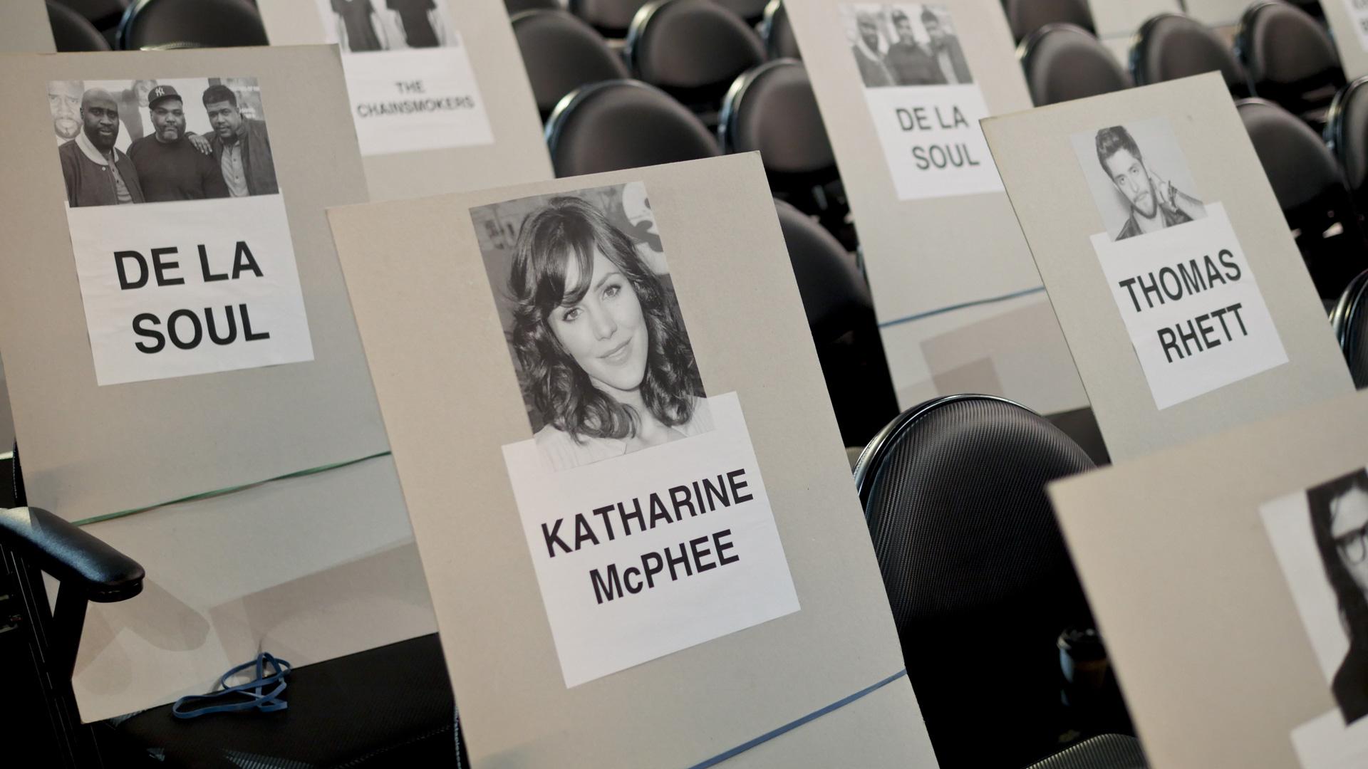 De La Soul, Katharine McPhee, and Thomas Rhett will be GRAMMY neighbors.
