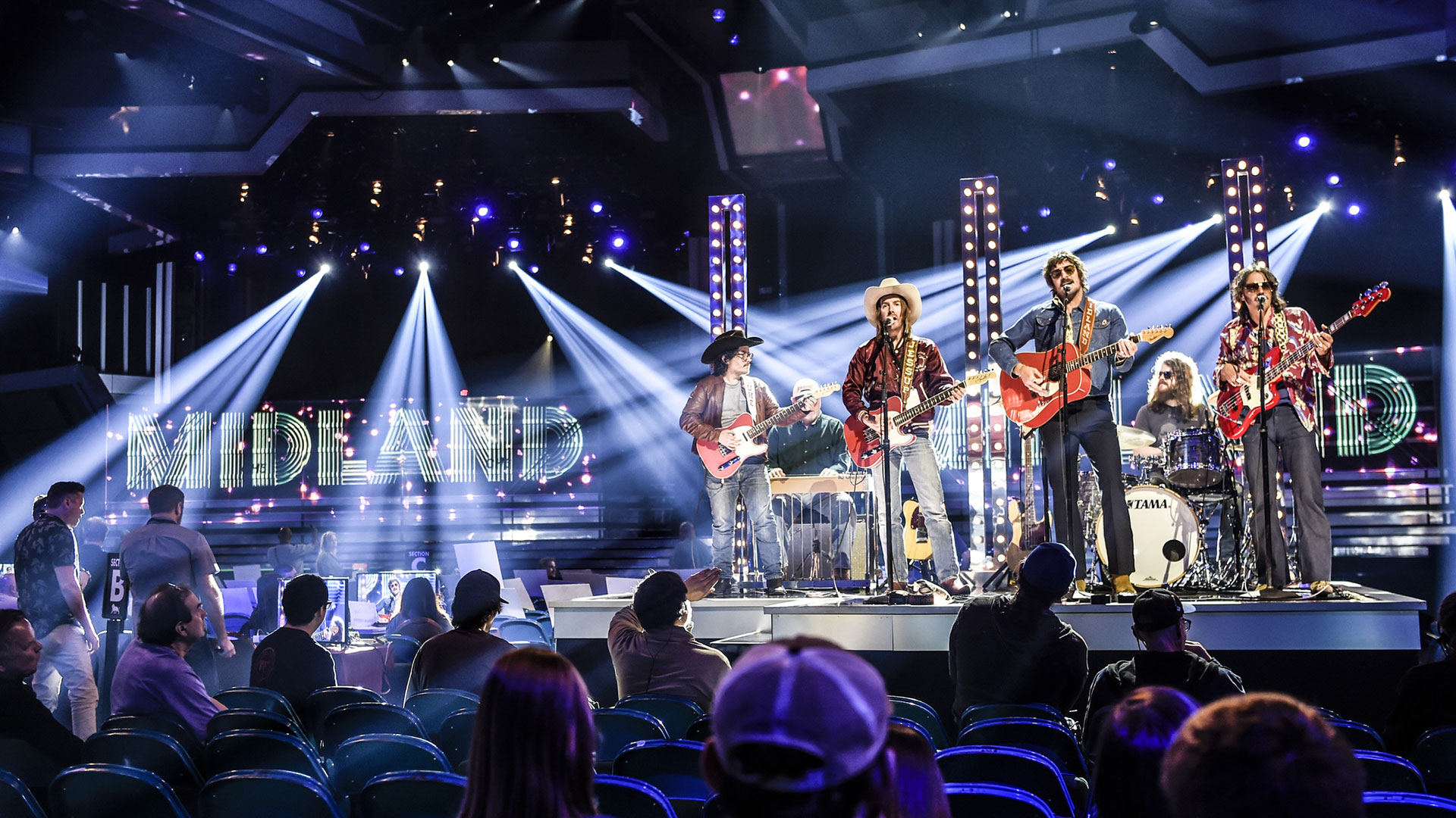 Midland, winner of New Vocal Duo or Group of the Year, gear up for the band's first ACM performance.