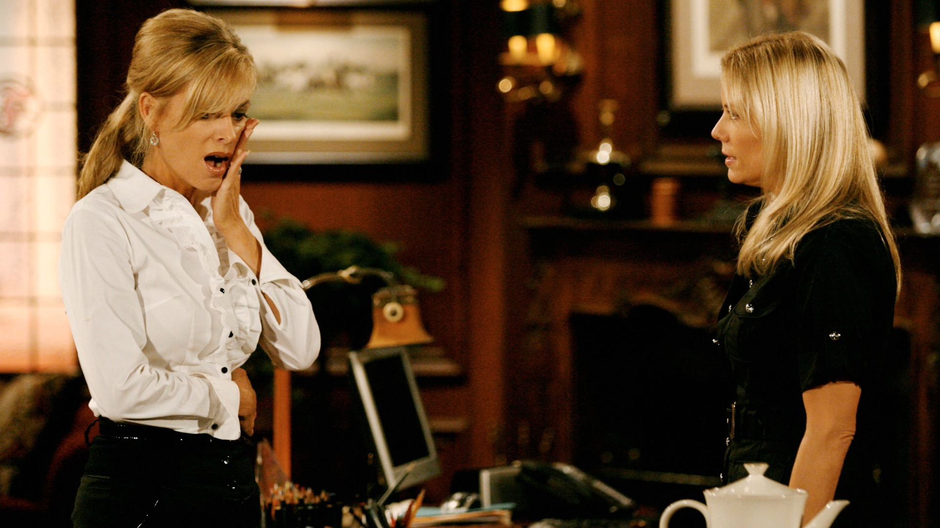 Ashley Abbott (Eileen Davidson) never saw eye to eye with Brooke Logan (Katherine Kelly Lang) during her time in Los Angeles.