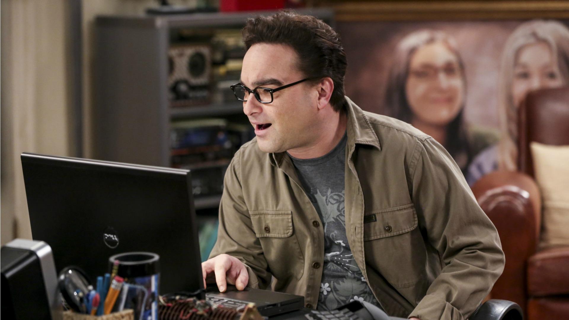 Leonard finds something unbelievable online.