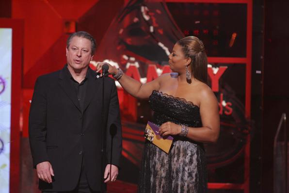 Queen Latifah and Al Gore