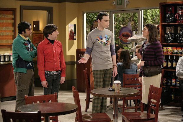 Question: How does Sheldon meet Amy Farrah Fowler?