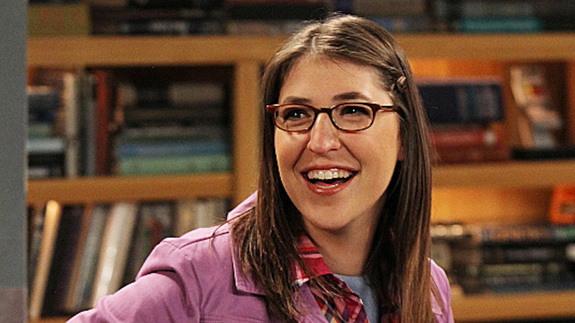 Mayim Bialik from The Big Bang Theory