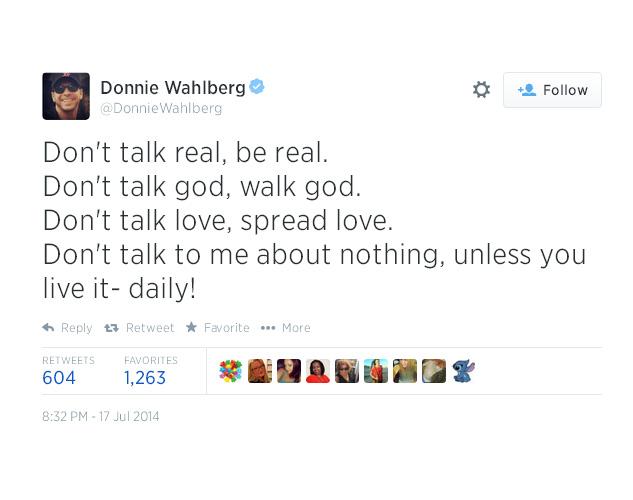 10. Don't talk real, be real.
