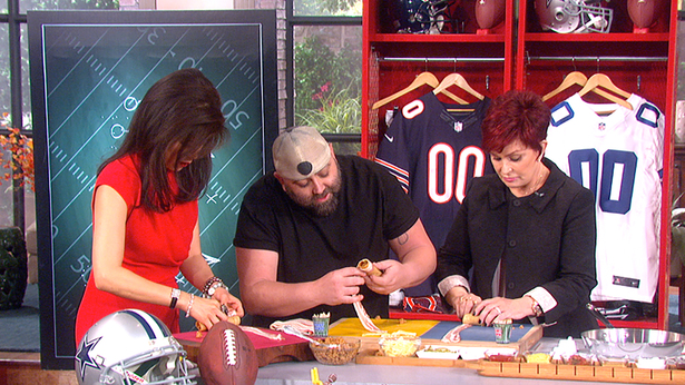 7. Cooking with Chef Duff Goldman.