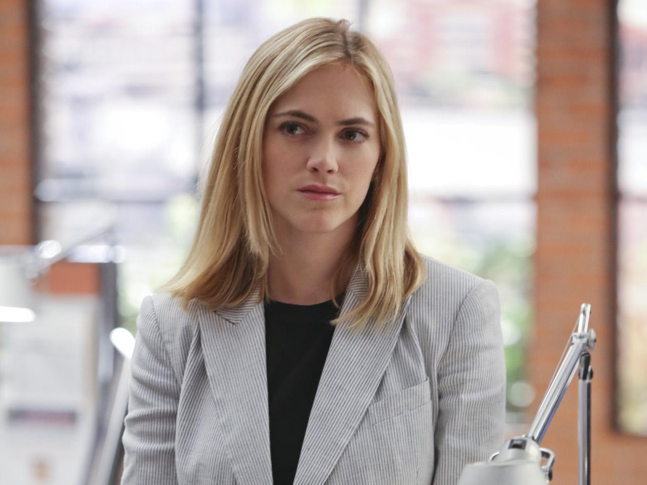 Emily Wickersham as Ellie Bishop.