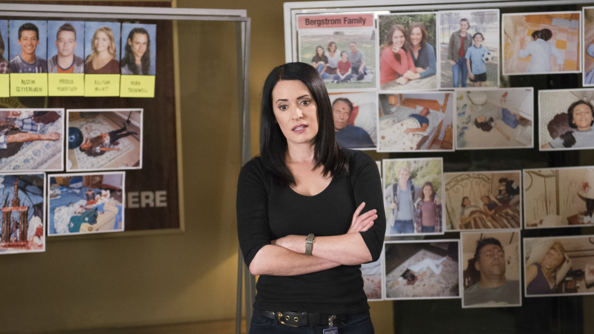 Emily Prentiss returned to the BAU.