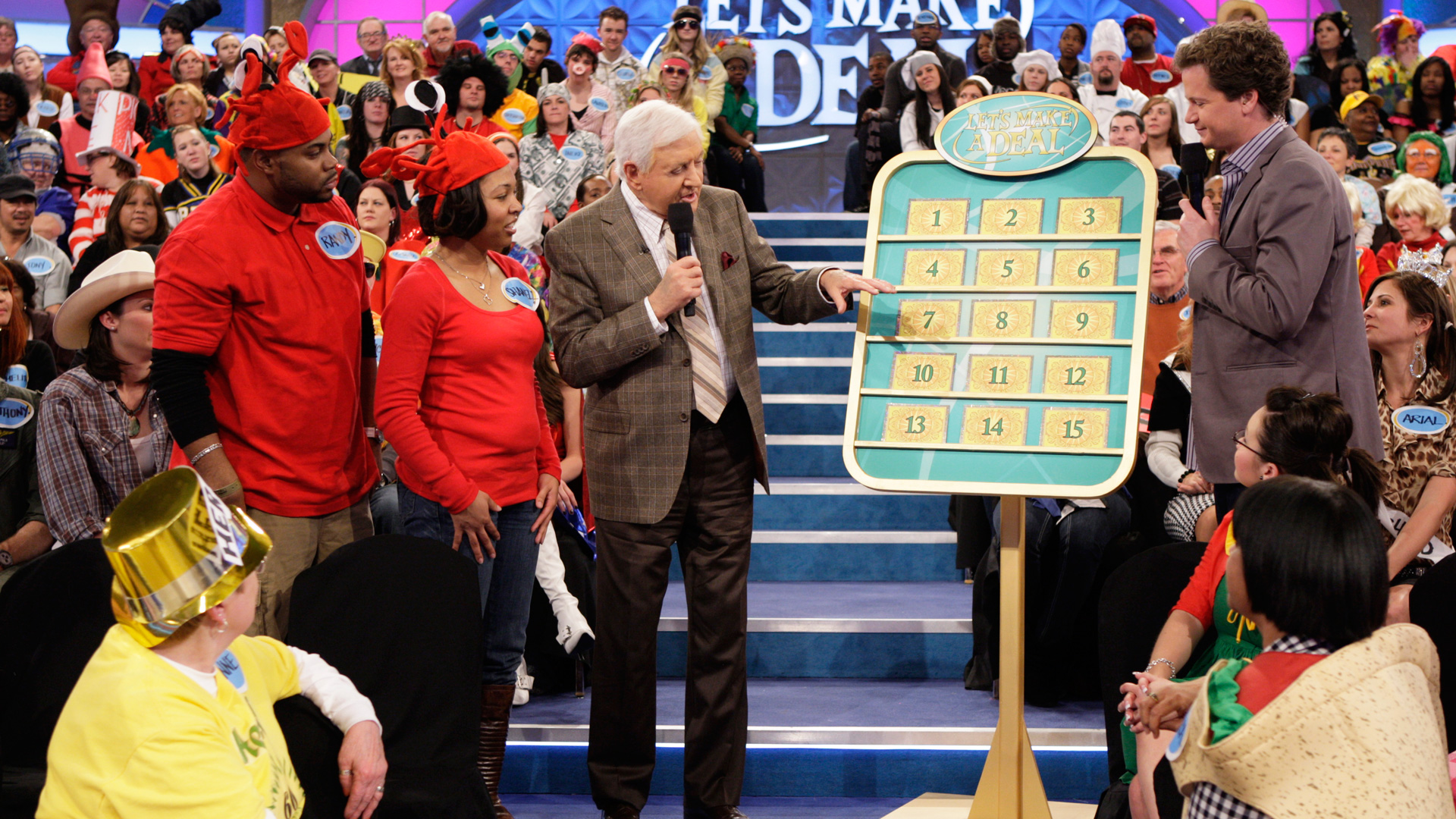 Monty never lost that game show touch.