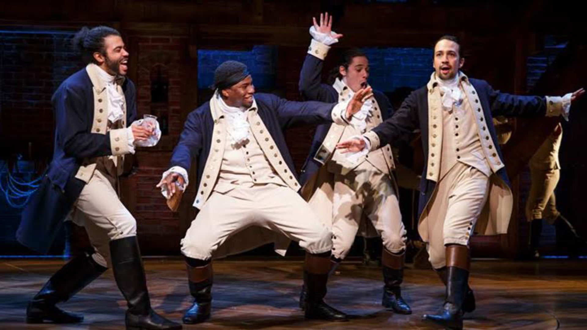 The time Hamilton scribe Lin-Manuel Miranda rapped his acceptance speech