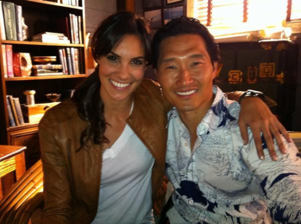 Daniela and Daniel Dae Kim