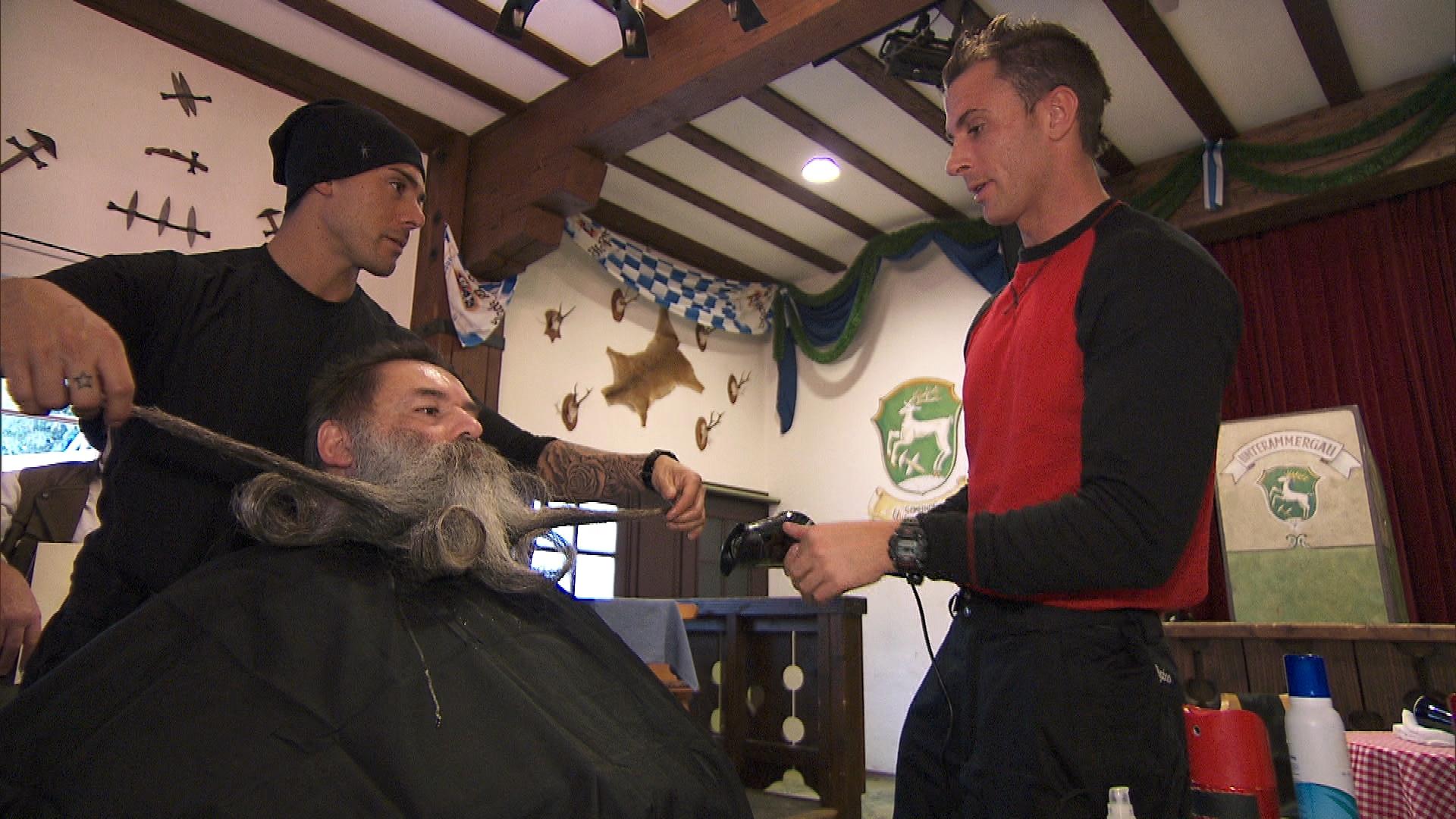 Styling a Beard
