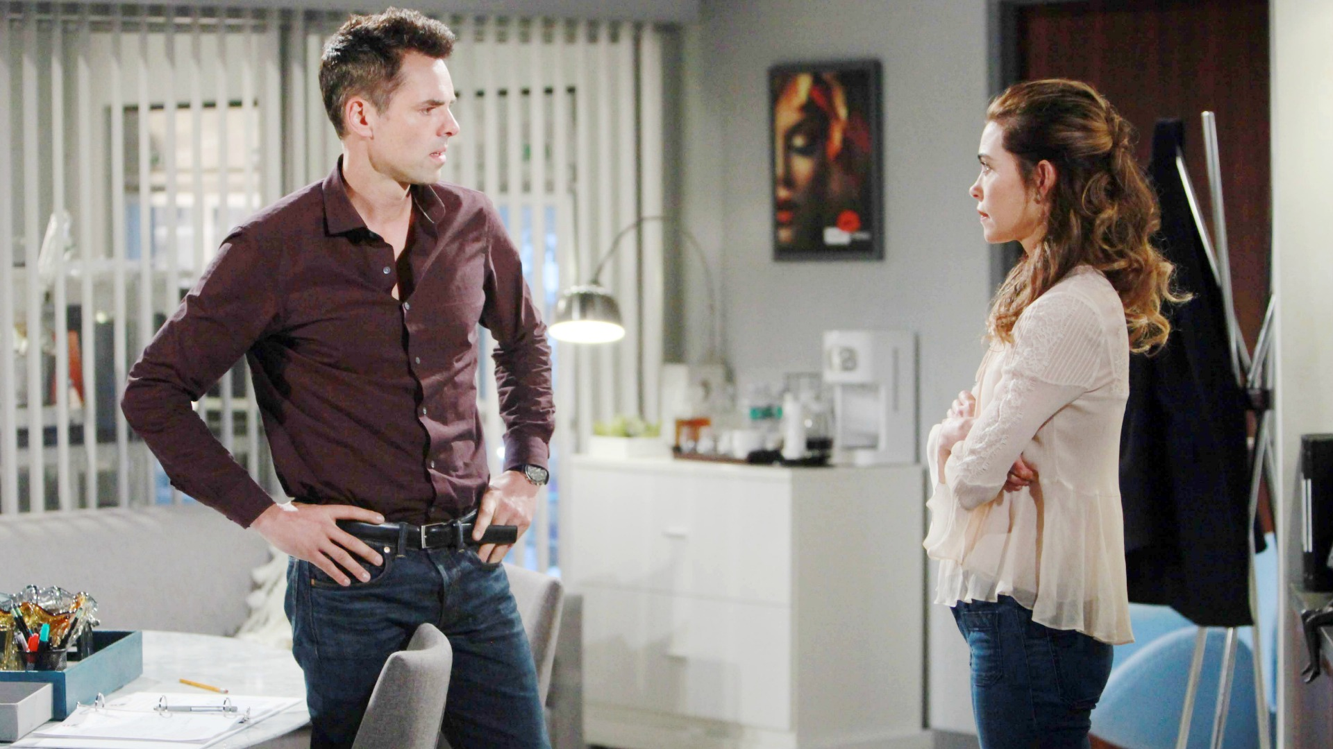 Billy struggles with telling Victoria the truth.