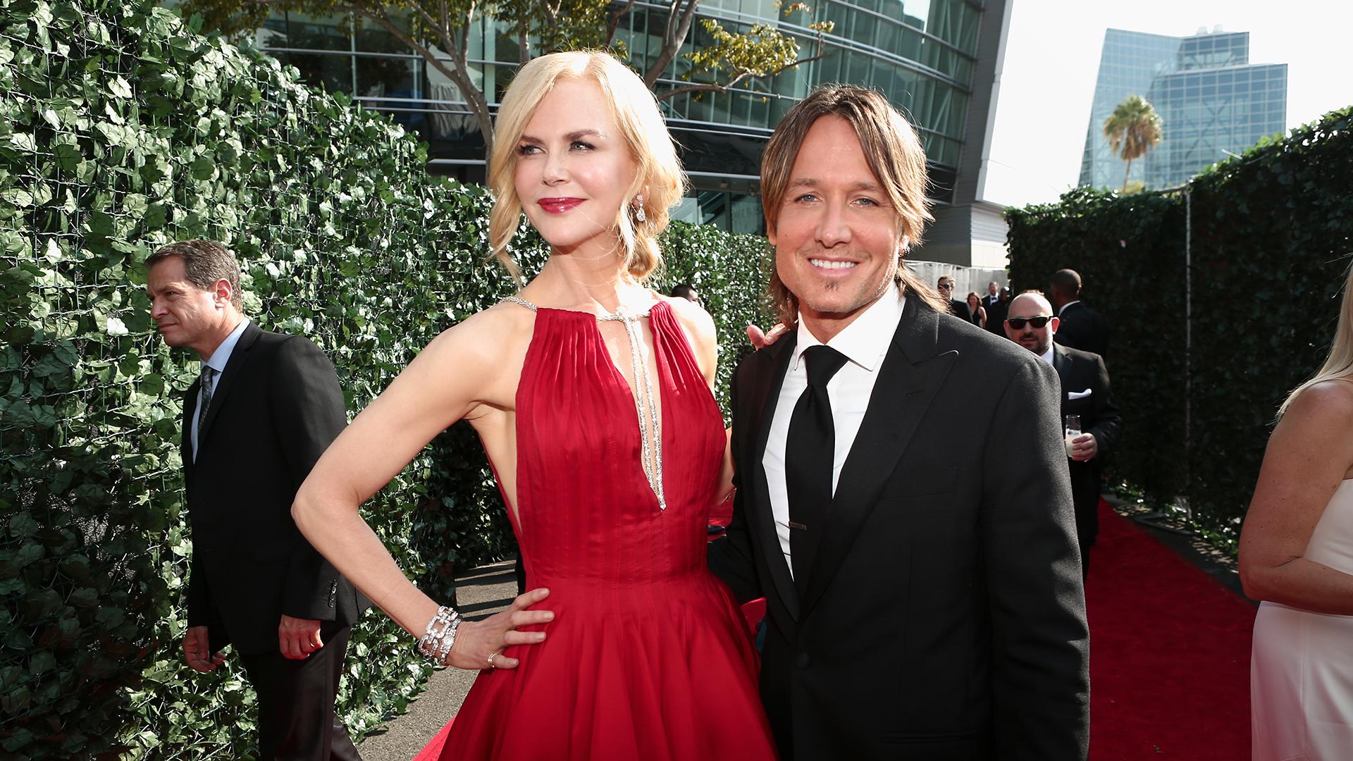 Nicole Kidman from Big Little Lies and husband Keith Urban