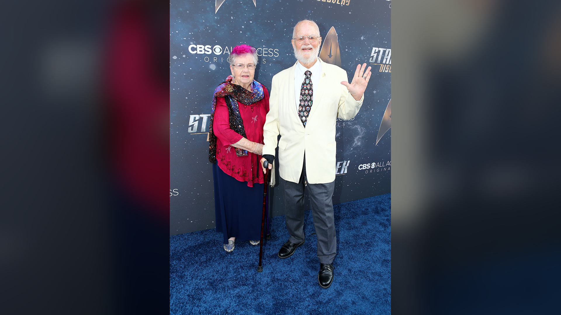 Bjo and John Trimble, the fans who helped save the original Star Trek