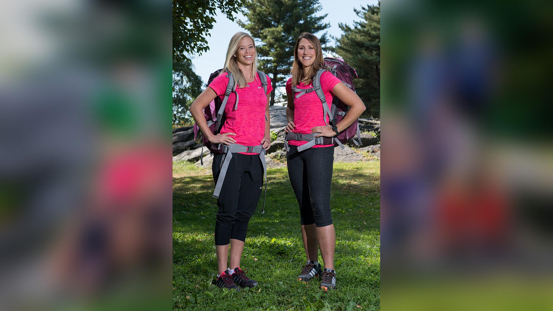Kristi Leskinen and Jen Hudak (#TeamExtreme)