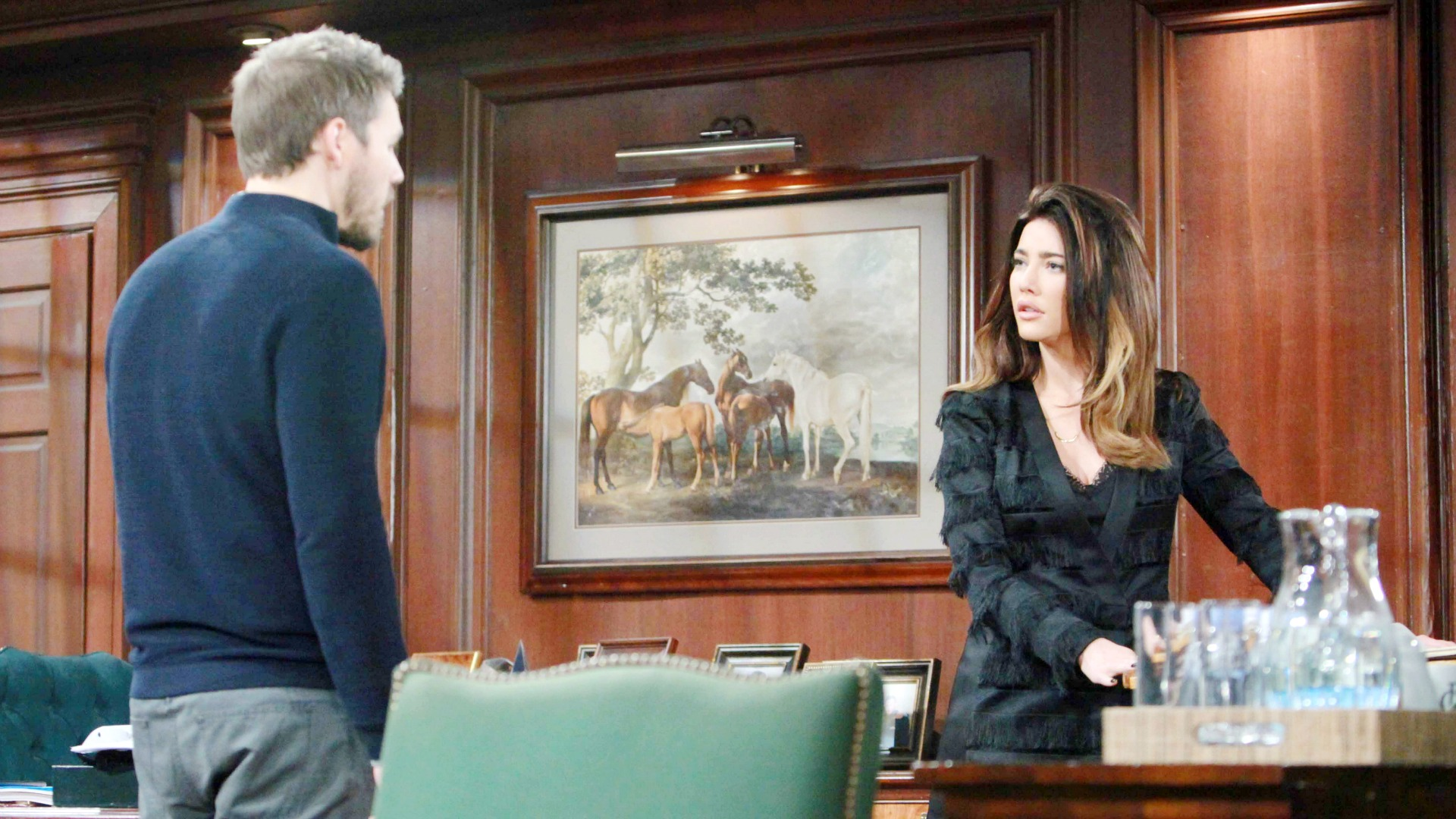 Liam puts his foot down with Steffy regarding the direction of their relationship.