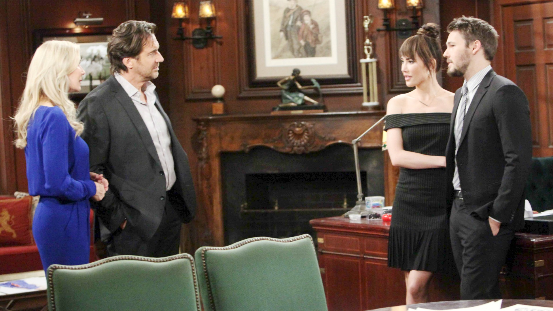 Steffy and Liam make a big announcement to their friends and family about their destination wedding.