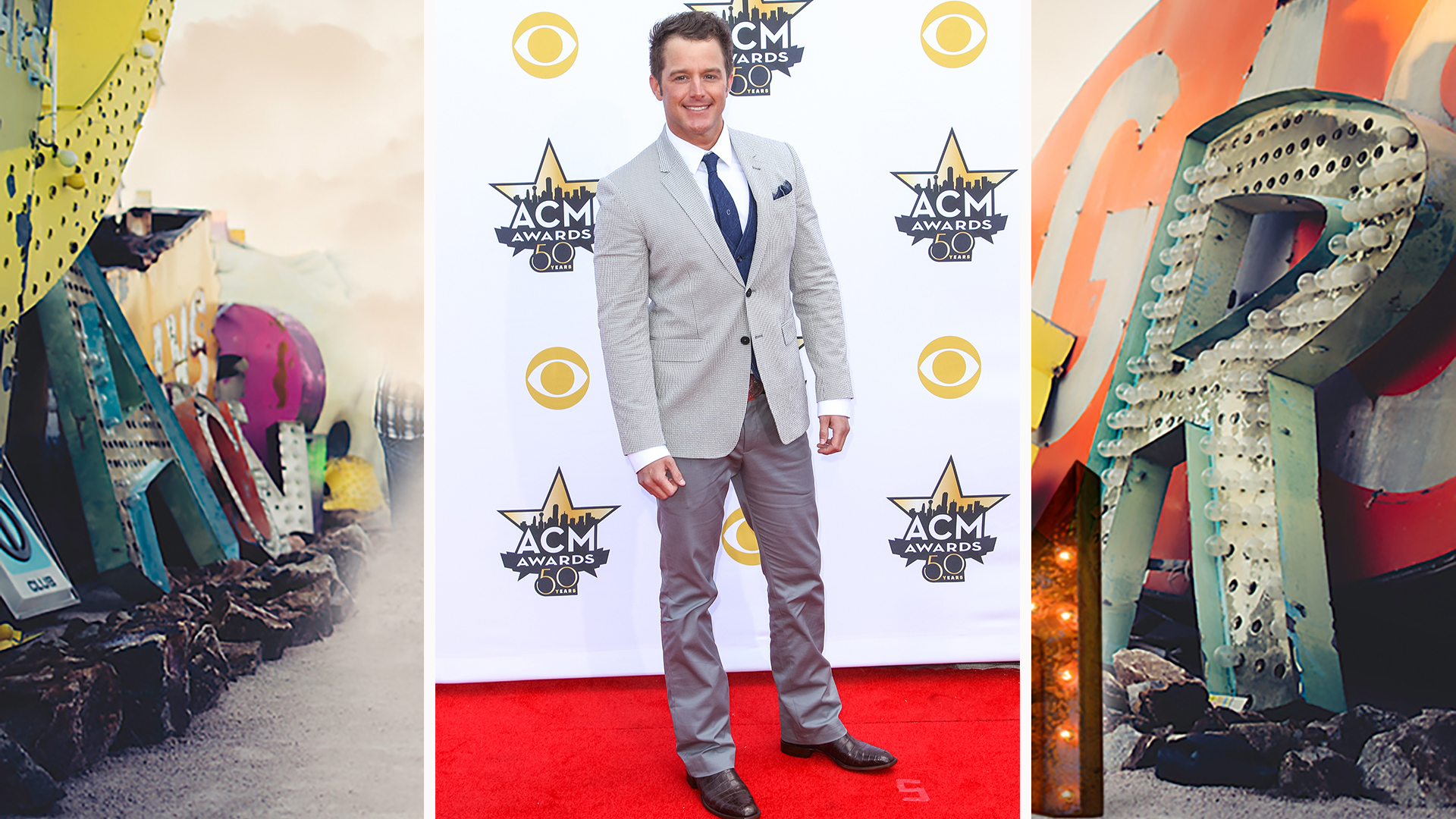 Yup! Easton Corbin is a master of mixing and matching.