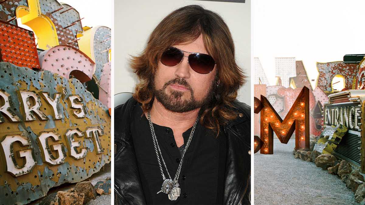 Billy Ray Cyrus' dons breeze-approved layers.