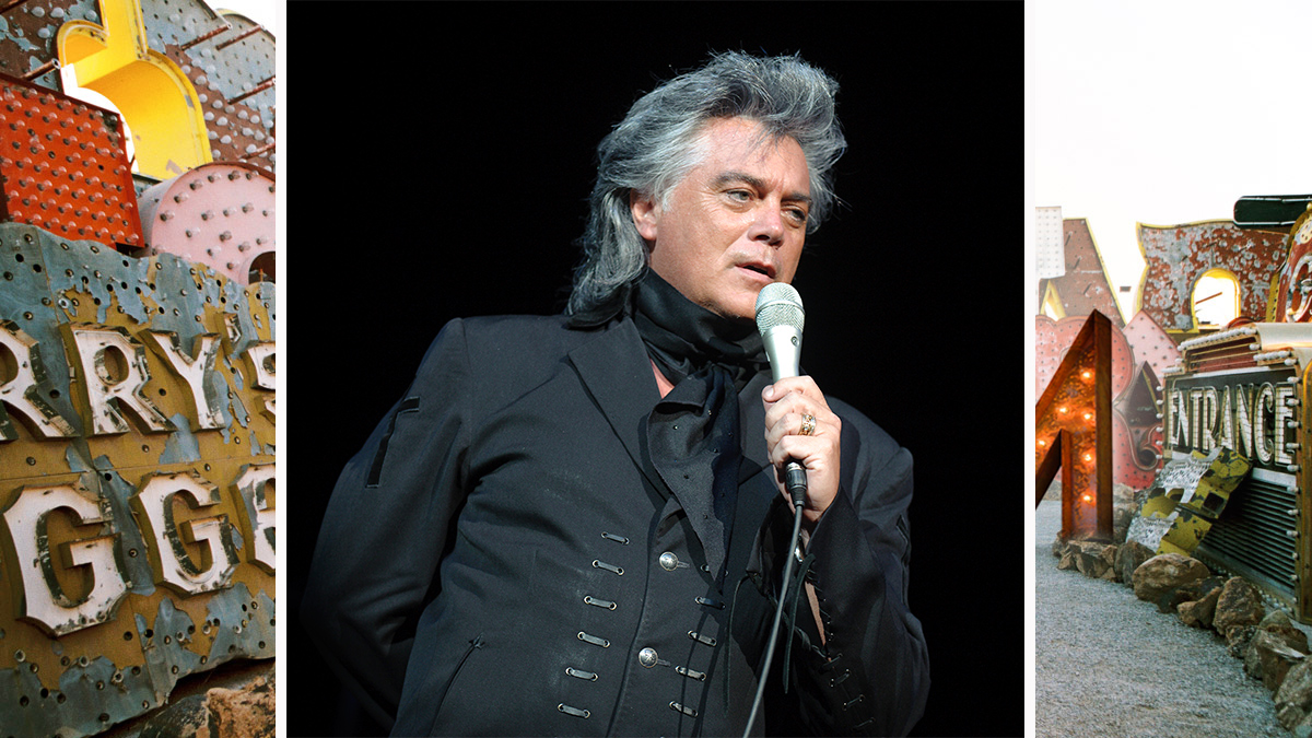 Marty Stuart pomps up the volume.