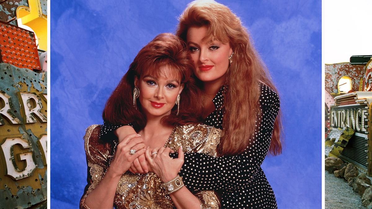 The Judds bang out the hits—and the hairstyles.