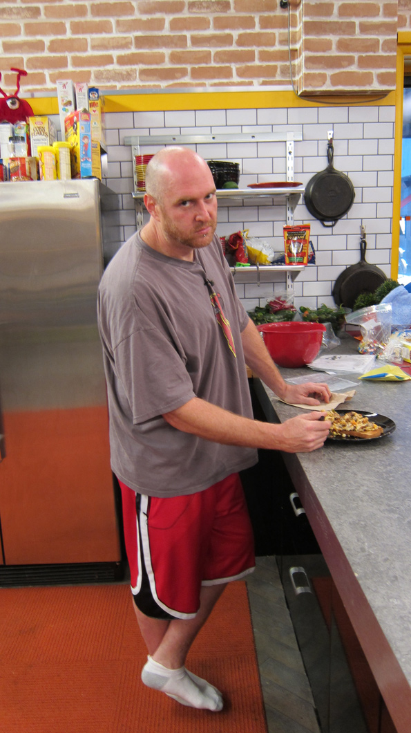 Adam in the Kitchen