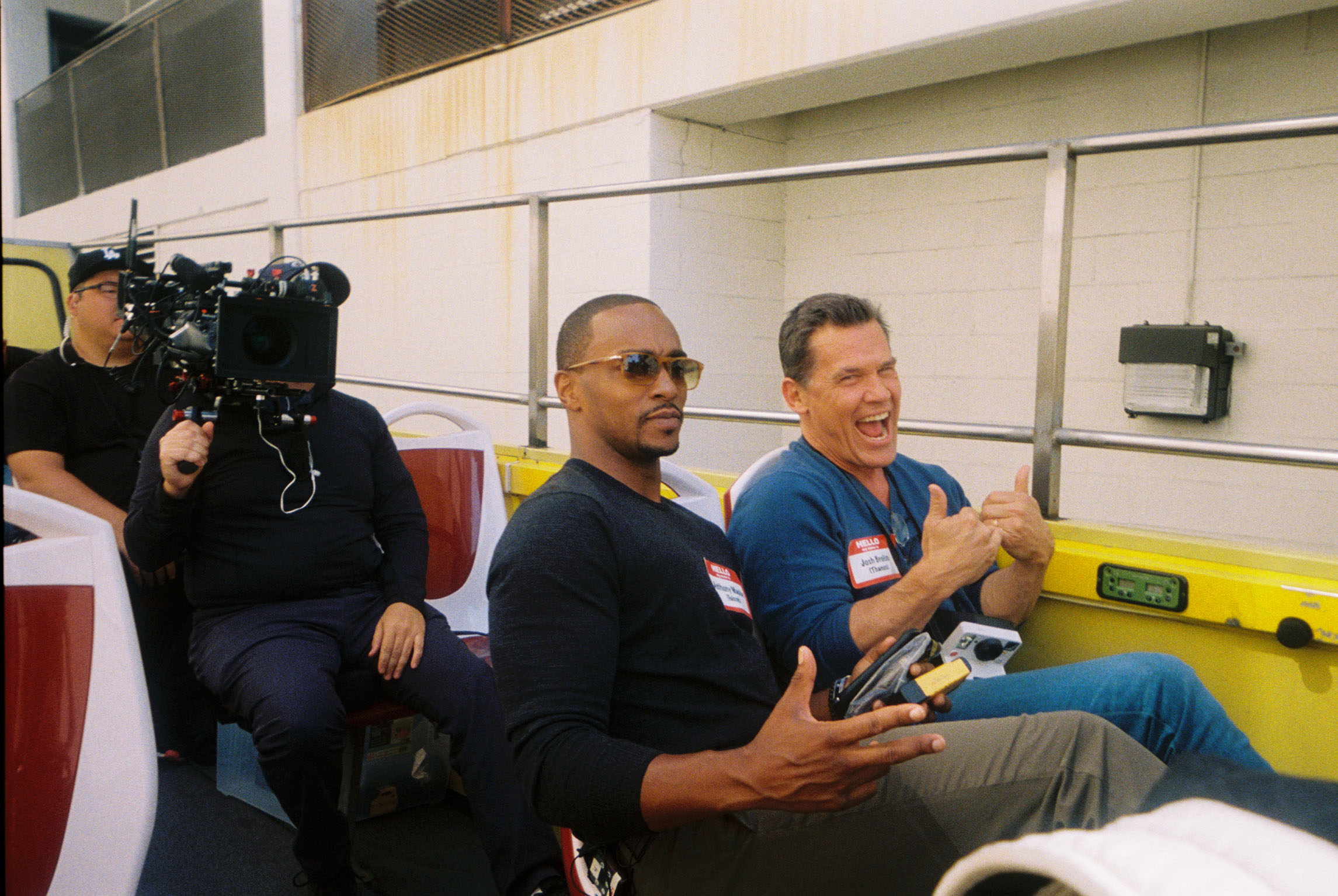 Anthony Mackie and Josh Brolin