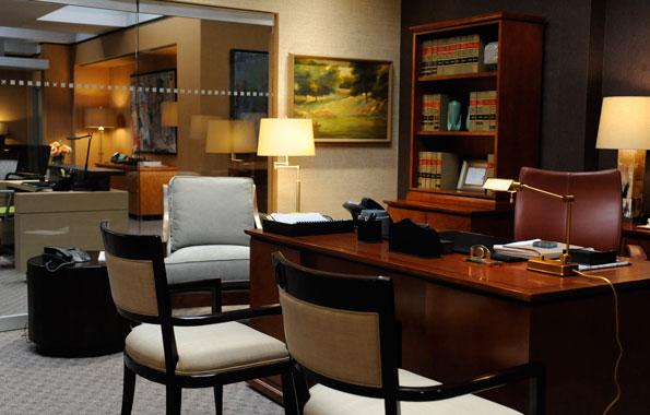 Alicia's New Office
