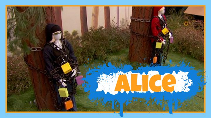Question: What was the name of the mannequin during this week's BoB competition? Answer: Alice!
