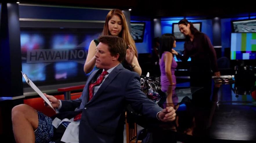 Keahi Tucker and Stephanie Lum are news anchors with Hawaii News Now.