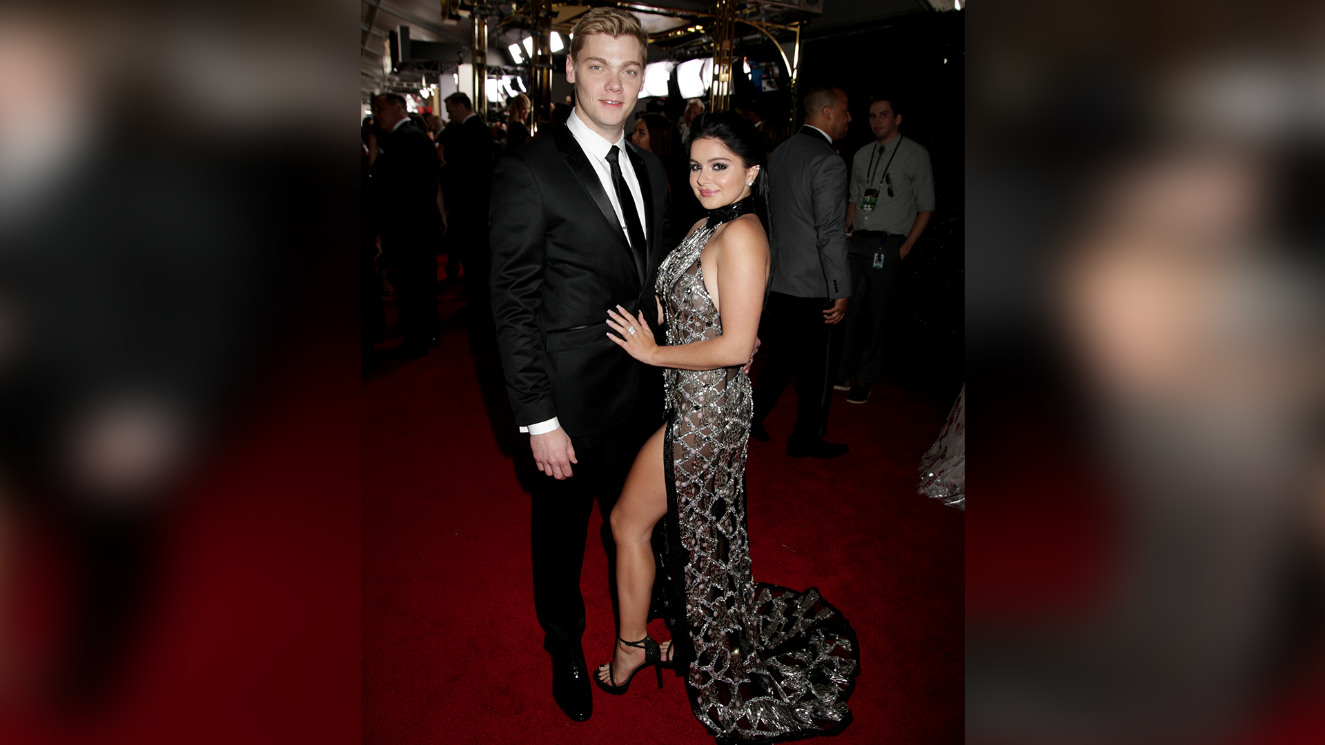 Ariel Winter from Modern Family and Levi Meaden