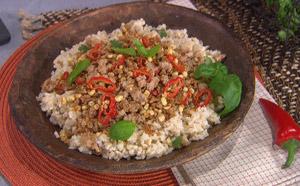 rice & pork bowl