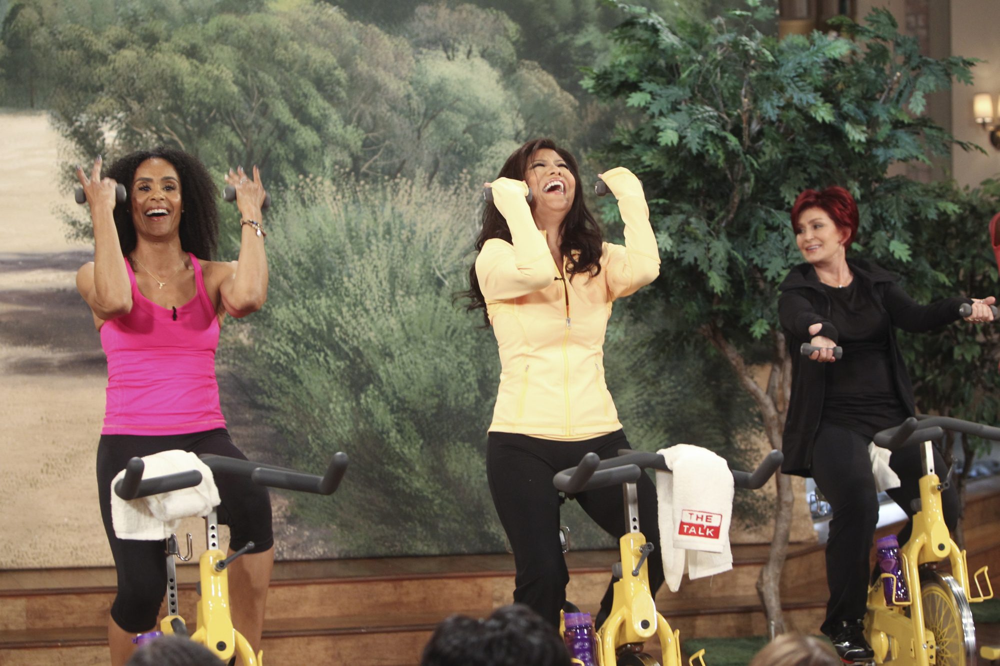 Julie Chen workout