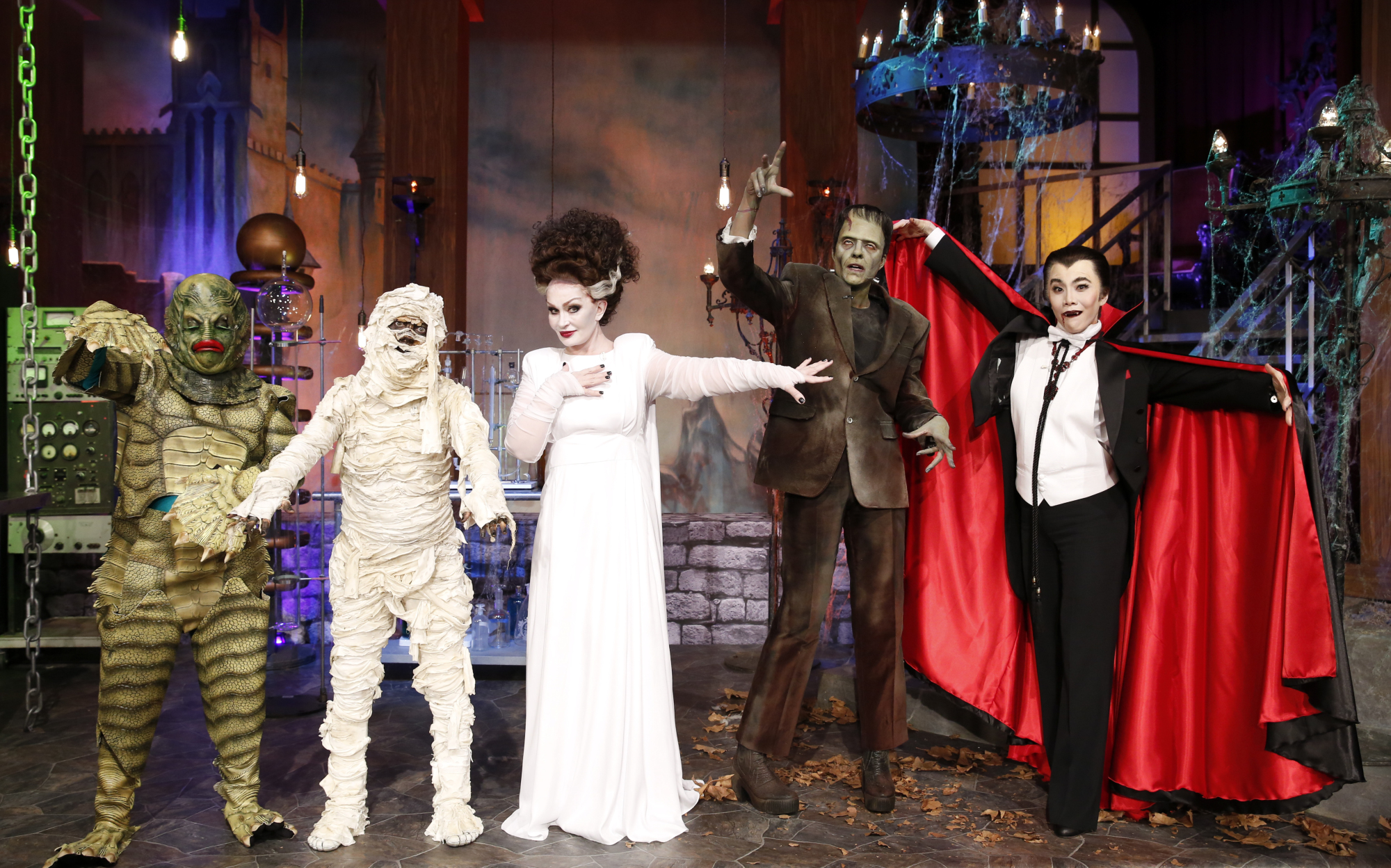 "it's a halloween ""monster mash up!"" - cbs"