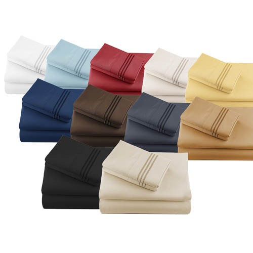 Luxury Microfiber Sheet Sets by House of Linens