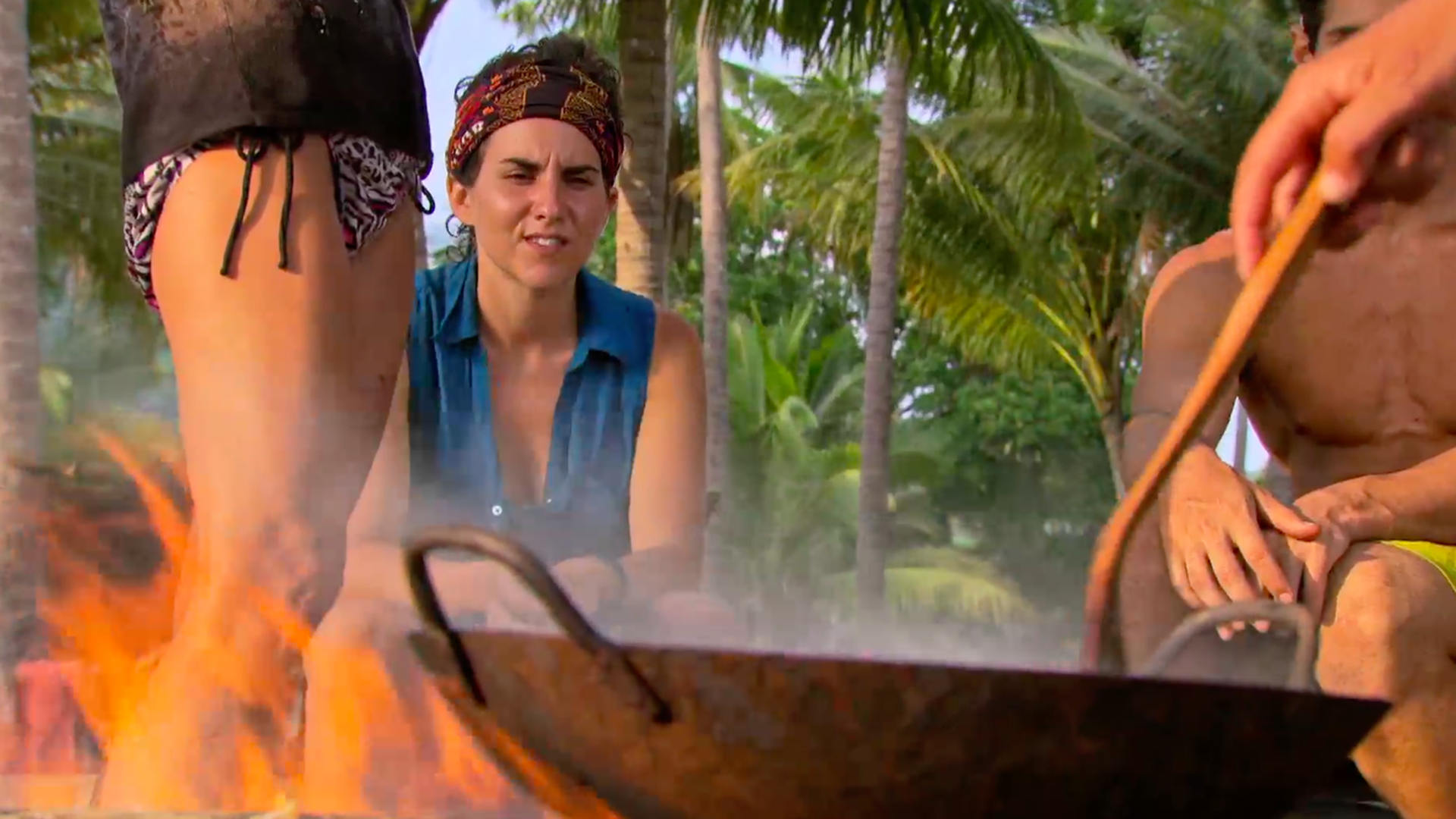 1. Aubry starts to see the castaways' true colors.